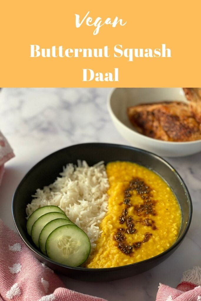 Vegan Butternut Squash Daal