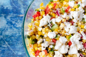 Corn and Feta Salad